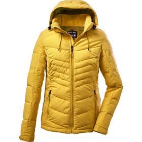 killtec KOW 149 Quilted Jacket Women, geel